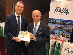 L'AMBASCIATORE STARACE A SOSTEGNO DELL'OFFERTA TURISTICA ITALIANA IN GIAPPONE