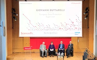 "GIOVANNI BUTTARELLI (GARANTE PRIVACY) AL SUMMIT 2019 ""GIOVANI E LEADER"" DI SCIENCES PO"