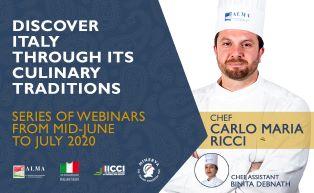 INTRODUZIONE ALLA CUCINA ITALIANA: I NUOVI CORSI ONLINE DI ALMA E IICCI
