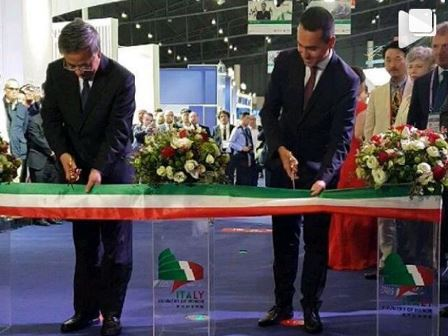 FIERA DI CHENGDU: DI MAIO INAUGURA IL PADIGLIONE ITALIA