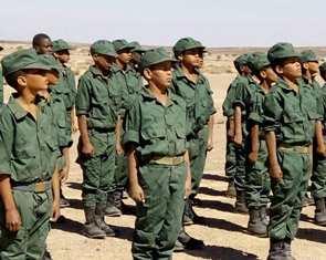 RETE DELLE ASSOCIAZIONI DELLA COMUNITÀ MAROCCHINA IN ITALIA (RACMI): BASTA BAMBINI SOLDATO IN ALGERIA