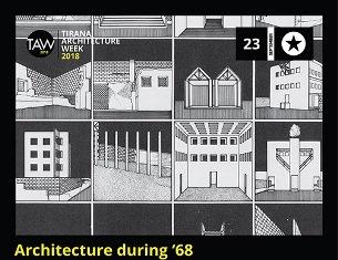 ARCHITETTURA E '68: ARCHITETTI ITALIANI A TIRANA CON L'IIC