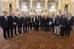 AL QUIRINALE LA CERIMONIA DI CONFERIMENTO DEI PREMI ENI AWARD 2018