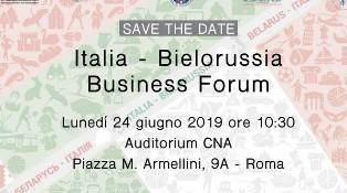 A ROMA BUSINESS FORUM ITALIA-BIELORUSSIA