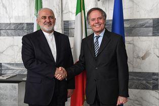 MOAVERO MILANESI INCONTRA IL MINISTRO DEGLI ESTERI IRANIANO ZARIF