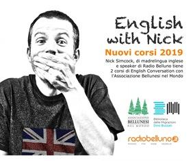 """""""ENGLISH WITH NICK""""; LA BIBLIOTECA DELLE MIGRAZIONI """"DINO BUZZATI"""" PROPONE DUE CORSI DI INGLESE"""