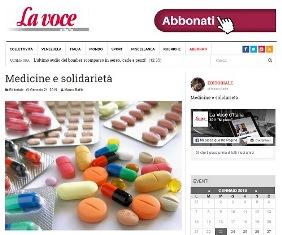MEDICINE E SOLIDARIETÀ – di Mauro Bafile