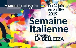 A PARIGI LA XIX EDIZIONE DELLA SETTIMANA ITALIANA- LA BELLEZZA