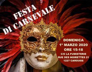 TUTTI IN MASCHERA PER LA FESTA DI CARNEVALE DEL GRUPPO GENITORI GINEVRA
