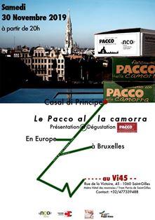 """""""FARE UN PACCO ALLA CAMORRA"""": ARRIVA A BRUXELLES L'INIZIATIVA CHE """"FREGA"""" LA MAFIA NAPOLETANA"""