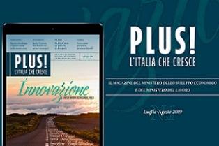 """""""PLUS!"""": ONLINE IL PRIMO NUMERO DEL MAGAZINE MISE – LAVORO"""
