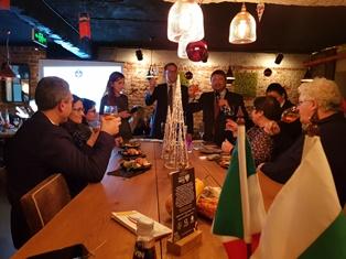 SETTIMANA DELLA CUCINA ITALIANA NEL MONDO: A SOFIA L'APERITIVO ITALIANO DELLA CAMERA DI COMMERCIO ITALIANA IN BULGARIA