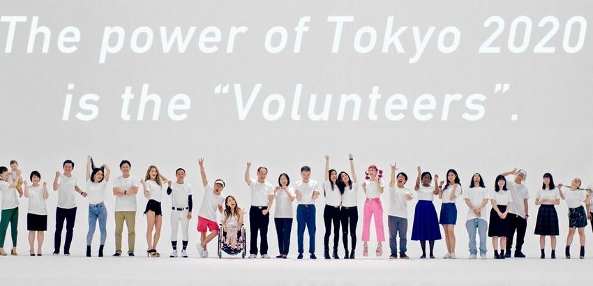 TOKYO 2020: INIZIA LA CAMPAGNA DI RECLUTAMENTO DEI VOLONTARI PER I GIOCHI OLIMPICI E PARALIMPICI