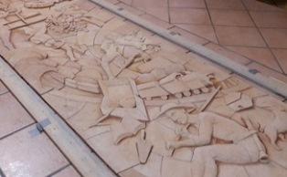 IL FOGOLÂR FURLAN DI APRILIA INAUGURA IL MONUMENTO ALL'EMIGRAZIONE