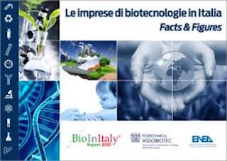 IMPRESE BIOTECH: CRESCONO INVESTIMENTI E FATTURATO/ IL RAPPORTO ASSOBIOTEC-ENEA