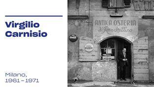 VIRGILIO CARNISIO E ME MUSEO: LE NUOVE MOSTRE DALLE COLLEZIONI DEL MUSEO DI FOTOGRAFIA CONTEMPORANEA DI CINISELLO BALSAMO