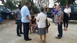 HAITI: LA COMUNITÀ PAPA GIOVANNI INCONTRA IL VESCOVO MÉSIDOR