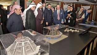 "RIAD: L'AMBASCIATORE FERRARI INAUGURA LA MOSTRA ""TRAME D'ACQUA/THE SHAPES OF WATER"""
