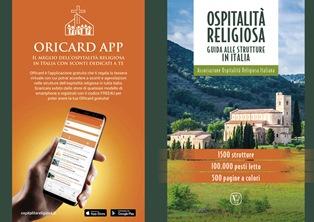 ORICARD: ARRIVA L'APP PER SCOPRIRE LE STRUTTURE DELL'OSPITALITÀ RELIGIOSA IN ITALIA