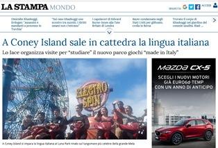 A CONEY ISLAND SALE IN CATTEDRA LA LINGUA ITALIANA – di Francesco Semprini