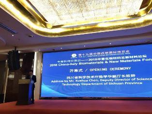 ALLA WESTERN CHINA INTERNATIONAL FAIR DI CHENGDU IL WORKSHOP ITALO-CINESE SU BIO E NUOVI MATERIALI