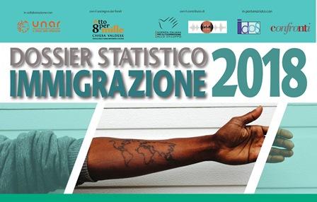 DOSSIER STATISTICO IMMIGRAZIONE 2018: PRESENTAZIONE AL CNEL