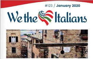 """ONLINE IL NUOVO NUMERO DEL MAGAZINE """"WE THE ITALIANS"""""""