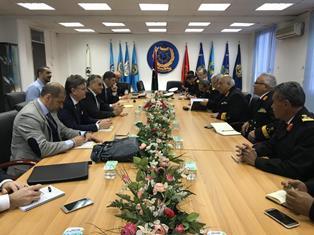 ITALIA – LIBIA: RIUNIONE A TRIPOLI PER LA GESTIONE INTEGRATA DELLE FRONTIERE E DELL'IMMIGRAZIONE