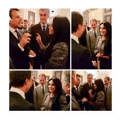 ANCHE FRANCESCA ALDERISI (FI) ALL'INCONTRO DEL PREMIER CONTE PRESSO IL CONSOLATO D'ITALIA A NEW YORK