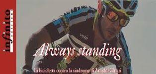 ALWAYS STANDING: IN BICICLETTA CONTRO LA SINDROME DI ARNOLD-CHIARI