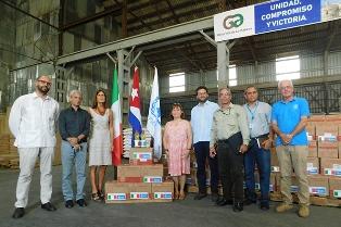 L'ITALIA A FIANCO DELLE FAMIGLIE CUBANE COLPITE DAL DEVASTANTE TORNADO