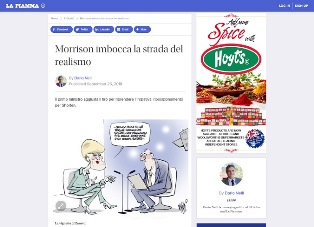 MORRISON IMBOCCA LA STRADA DEL REALISMO – di Dario Nelli