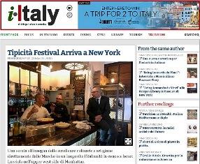 TIPICITÀ FESTIVAL ARRIVA A NEW YORK – di Francesca Pili
