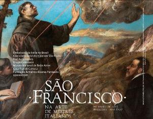 "AL MUSEU DE ARTE BRASILEIRA FAAP DI SAN PAOLO ""SÃO FRANCISCO NA ARTE DE MESTRES ITALIANOS"""