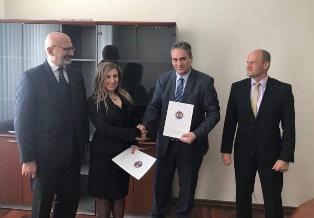 SIGLATO A SOFIA UN PROTOCOLLO D'INTESA TRA ASSOCIAZIONE GIORNALISTI E AUTORITÀ NAZIONALE BULGARA ANTI CORRUZIONE