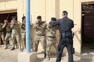 MISSIONE IN IRAQ: IL CONTINGENTE ITALIANO ADDESTRA LA ENERGY POLICE