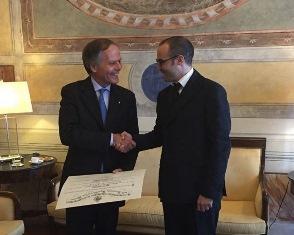 IL MINISTRO MOAVERO MILANESI IN VISITA UFFICIALE NELLA REPUBBLICA DI SAN MARINO