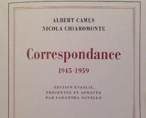 ALBERT CAMUS E NICOLA CHIAROMONTE: UN DIALOGO INTELLETTUALE E POLITICO ALL'IIC DI PARIGI