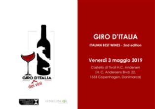"""A COPENHAGEN """"GIRO D'ITALIA"""" CON I MIGLIORI VINI ITALIANI"""
