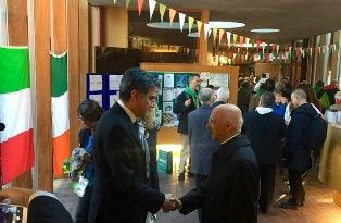 PAPA FRANCESCO IN IRLANDA: FESTA DEGLI ITALIANI A EASTWELL