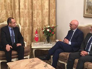 TUNISI: L'AMBASCIATORE FANARA INCONTRA IL NUOVO MINISTRO DELL'INTERNO HICHEM FOURATI