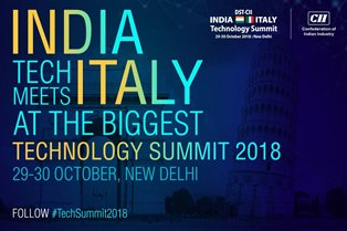 L'ITALIA IN INDIA: ASPETTANDO IL TECHNOLOGY SUMMIT DI NEW DELHI