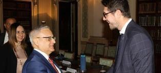 IMMIGRAZIONE, ASILO E FONDI UE: MOLTENI INCONTRA IL RAPPRESENTANTE DELLA CORTE DEI CONTI EUROPEA BRINCAT