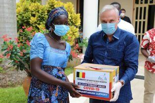 SANT'EGIDIO: AIUTI UMANITARI NEL CAMPO PER RIFUGIATI INTERNI DI KUNCHIGORO (NIGERIA)