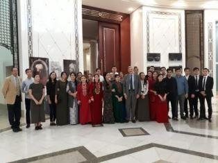 LA SETTIMANA LINGUA ITALIANA NEL MONDO IN TURKMENISTAN