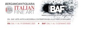 IFA E BAF 2020: A BERGAMO UN VIAGGIO TRA ARTE ANTICA, MODERNA E CONTEMPORANEA