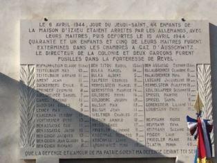 LIONE: IL CONSOLE BERTONI ALLA CERIMONIA DI COMMEMORAZIONE PRESSO IL MÉMORIAL DI IZIEU