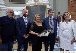 """COOPERAZIONE CULTURALE TRA ITALIA E MALTA: IL QUADRO """"SANTA ROSALIA"""" DI MATTIA PRETI A PALAZZO DEI NORMANNI A PALERMO"""