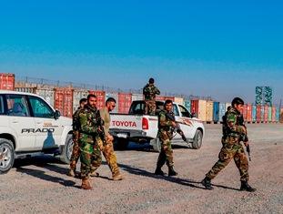 AFGHANISTAN: ADDESTRAMENTO DI SCORTA PER I MILITARI AFGANI