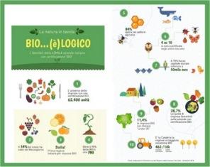 """CRESCE L'OFFERTA """"BIO"""" SULLE TAVOLE DEGLI ITALIANI/ IN 9 MESI +4.500 IMPRESE AGRICOLE CON CERTIFICAZIONE BIOLOGICA"""